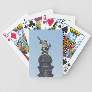 Travel the World - Columbus Pointing out to Sea Bicycle Playing Cards