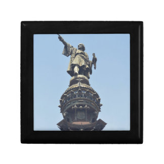Travel the World - Columbus Pointing out to Sea Gift Box