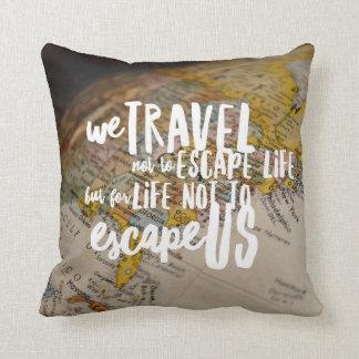 Travel the World Cushion