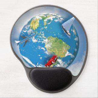 Travel the World Gel Mousepad