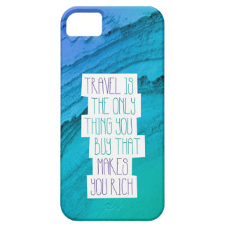 Travel the world inspiration quotation iphone case iPhone 5 case