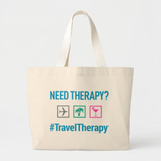 Travel Therapy Beach Bag