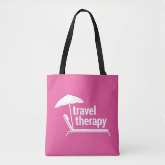 Travel Therapy Beach Bag & Purse