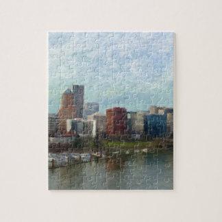 Travel through Portland Jigsaw Puzzle