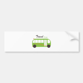 Travel Time Bumper Stickers