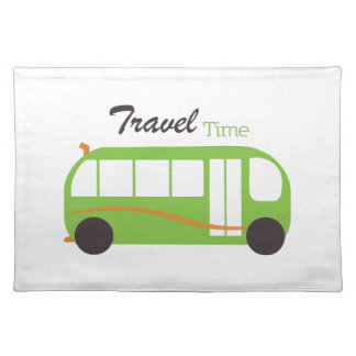 Travel Time Cloth Place Mat