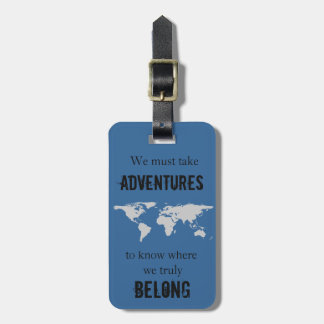 Travel to Belong Bag Tag