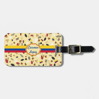 Travel to Colombia- famous items Luggage Tag