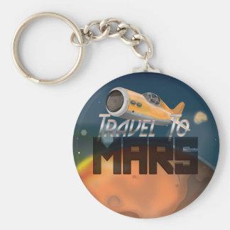 Travel To Mars Key Ring