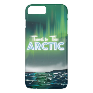 Travel to the Arctic Travel Poster iPhone 7 Plus Case