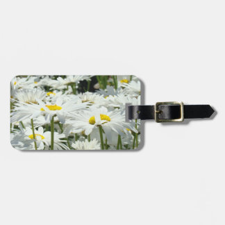 Travel Vacation Suitcase Luggage Tags Daisies