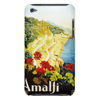 Travel Vintage Poster Amalfi Italy iPod Touch Case