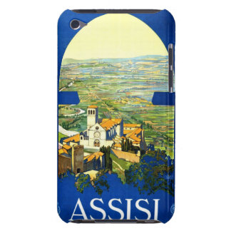 Travel Vintage Poster Assisi Italy iPod Touch Case-Mate Case