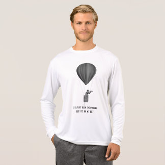 Travel with hot air balloon, vintage and nostalgic T-Shirt
