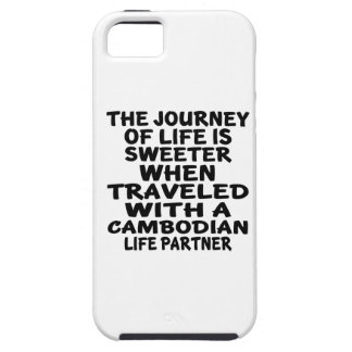 Traveled With A Cambodian Life Partner iPhone 5 Cases