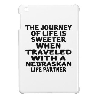 Traveled With A Nebraskan Life Partner Cover For The iPad Mini