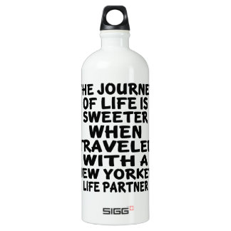 Traveled With A New Yorker Life Partner Water Bottle