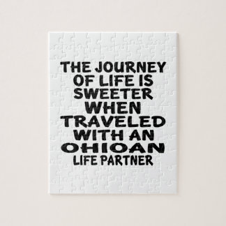 Traveled With A Ohioan Life Partner Jigsaw Puzzle