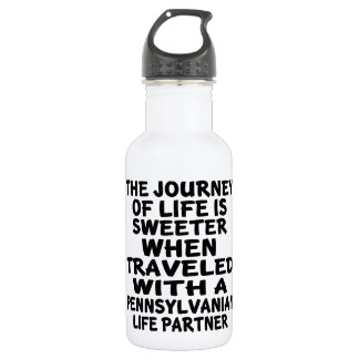 Traveled With A Pennsylvanian Life Partner 532 Ml Water Bottle