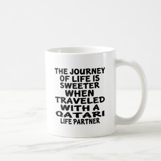 Traveled With A Qatari Life Partner Coffee Mug
