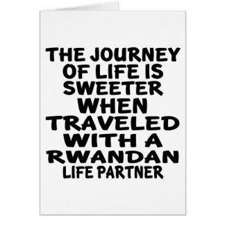 Traveled With A Rwandan Life Partner Card