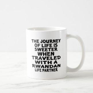 Traveled With A Rwandan Life Partner Coffee Mug