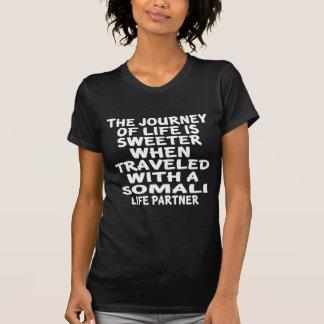 Traveled With A Somali Life Partner T-Shirt