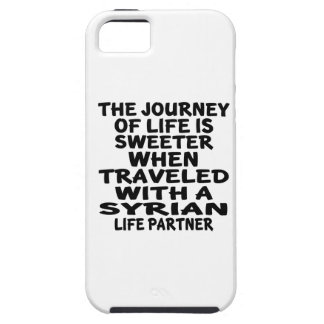 Traveled With A Syrian Life Partner iPhone 5 Covers