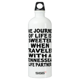 Traveled With A Tennessean Life Partner SIGG Traveller 1.0L Water Bottle