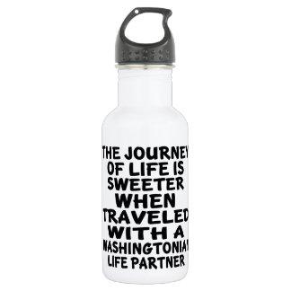 Traveled With A Washingtonian Life Partner 532 Ml Water Bottle
