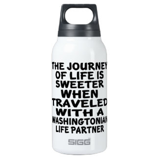 Traveled With A Washingtonian Life Partner Insulated Water Bottle