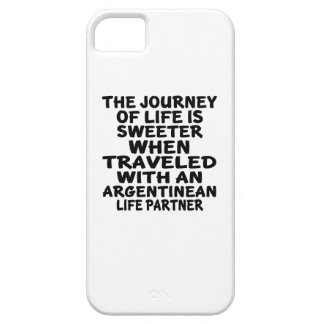Traveled With An Argentinean Life Partner iPhone 5 Cover