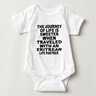 Traveled With An Eritrean Life Partner Baby Bodysuit