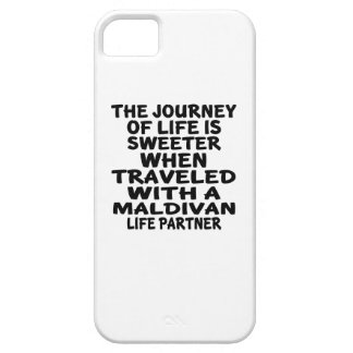 Traveled With An Maldivan Life Partner iPhone 5 Cover