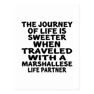 Traveled With An Marshallese Life Partner Postcard