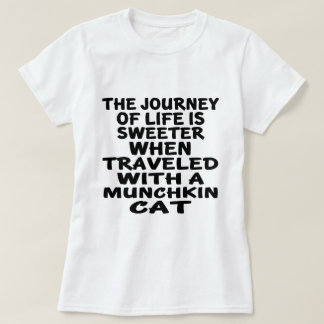 Traveled With Munchkin Cat T-Shirt