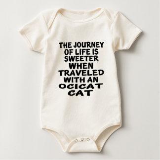 Traveled With Ocicat Cat Baby Bodysuit