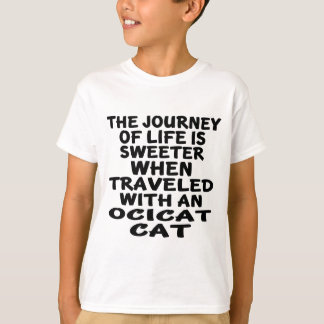 Traveled With Ocicat Cat T-Shirt