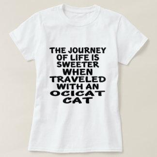 Traveled With Ocicat Cat T-Shirt