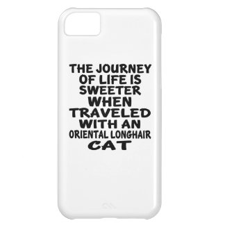 Traveled With Oriental Longhair Cat iPhone 5C Case