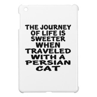 Traveled With Persian Cat Cover For The iPad Mini