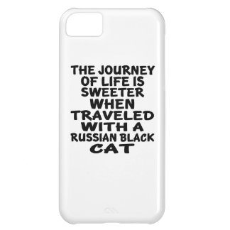 Traveled With Russian Black Cat iPhone 5C Case