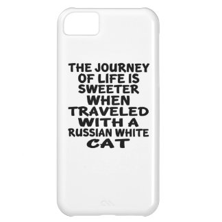 Traveled With Russian White Cat iPhone 5C Case