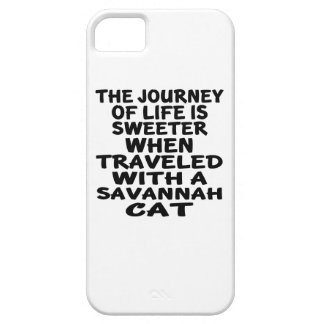 Traveled With Savannah Cat Case For The iPhone 5