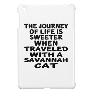 Traveled With Savannah Cat iPad Mini Cases