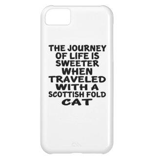 Traveled With Scottish Fold Cat iPhone 5C Case