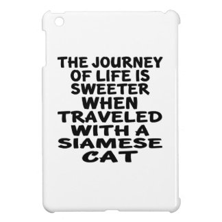 Traveled With Siamese Cat iPad Mini Case