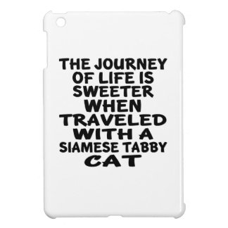 Traveled With Siamese tabby Cat Case For The iPad Mini