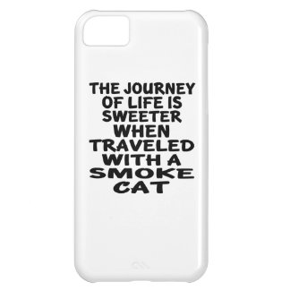 Traveled With Smoke Cat iPhone 5C Case