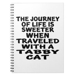 Traveled With Tabby Cat Notebook